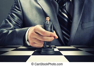 xadrez, negócio
