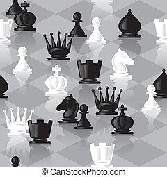 xadrez, seamless