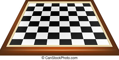 xadrez, vazio, tábua
