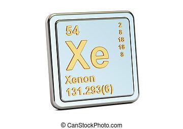 xe, podpis., pralátka, chemikálie, překlad, xenon, 3
