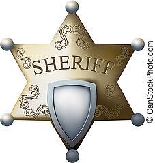 xerife, bage