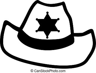 xerife, chapéu