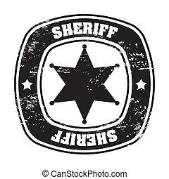 xerife, selo