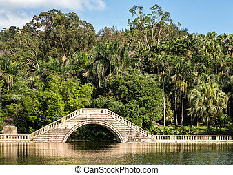 Xiamen botanical garden bridge