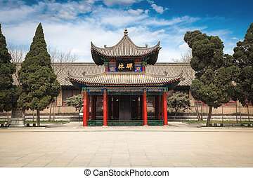 xi'an beilin museum,established in 1087,the forest of stone...