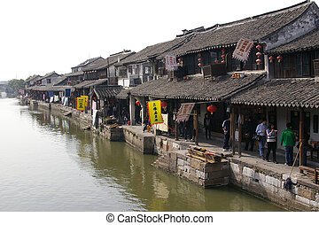 Xitang water village in China
