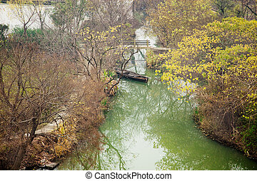 xixi, sumpfgebiet, park, national, scenics, schöne