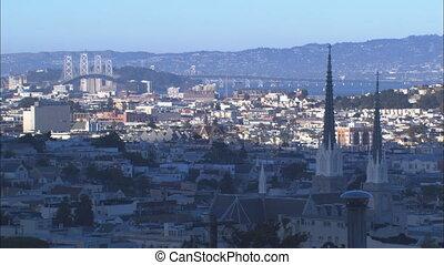 XLS SF Bay Bridge And Warehouse District - XLS of the San...