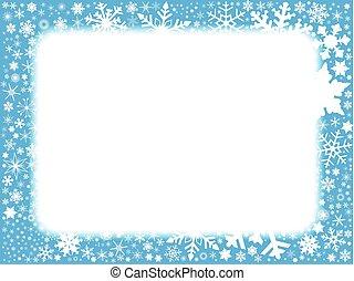 Xmas Blue Background