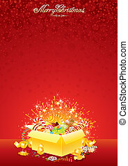 Xmas Bright Background