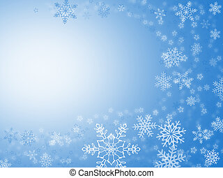 xmas card - christmas background for your designs in blue...