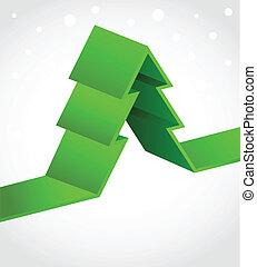 xmas, fundo, com, pixel, árvore natal