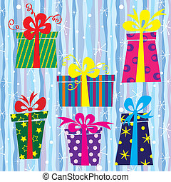 Xmas - gift boxes