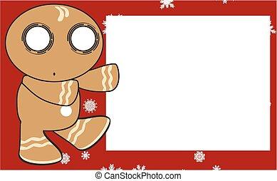 xmas gingerbread kid cartoon4