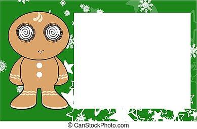 xmas gingerbread kid cartoon7