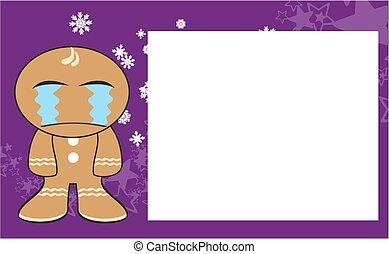 xmas gingerbread kid cartoon9