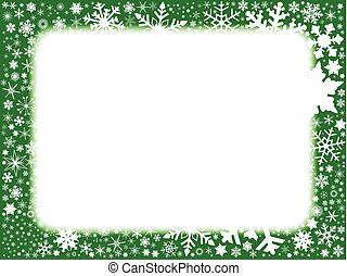 Xmas Green Background