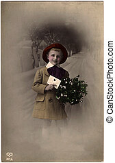 Xmas greeting card