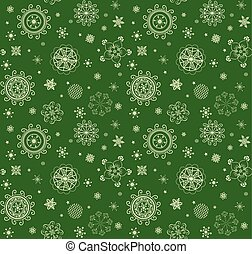 Xmas magical green background