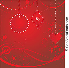 Xmas red card