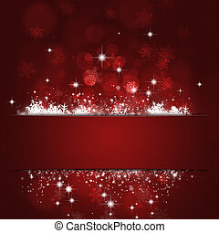 Xmas Red Cut Background