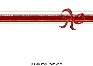 xmas ribbon