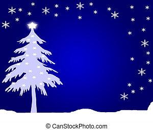 xmas scene - christmas themed background