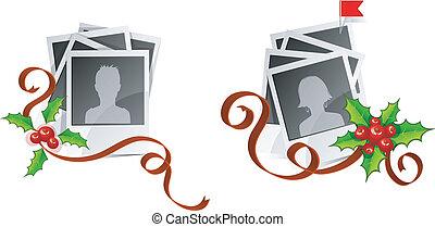 Xmas set photo with avatars