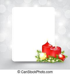 Xmas Silver Card