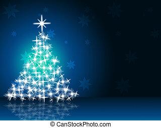 Xmas Tree Shows New Year And Christmas - Xmas Tree...