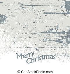 Xmas vintage background. Vector illustration, EPS8