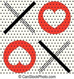 XOXO Polka Dot Decor - A retro styled decor of polka dots...