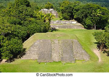xunantunich, belize, mayan, templo