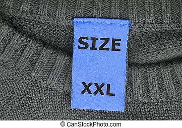 xxl, 大きさ