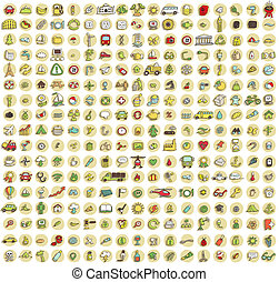 XXL Collection of 289 doodled icons for every occasion No.1...