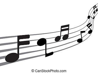 (xxl), note, musica