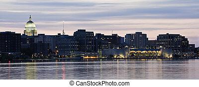 XXL Panorama of Madison, Wisconsin.
