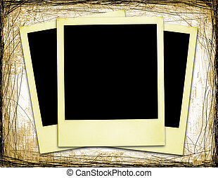 (xxl), vecchio, polaroids