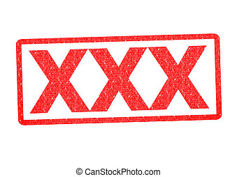 XXX Rubber Stamp