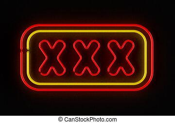 xxx, señal