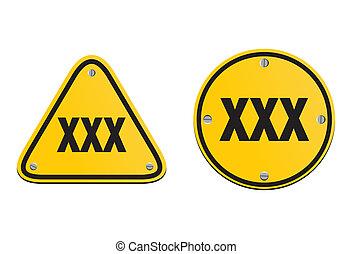 xxx signs
