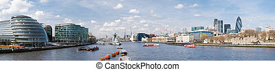XXXL - City of London skyline. - City of London skyline with...
