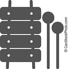 xylofoon, speelbal