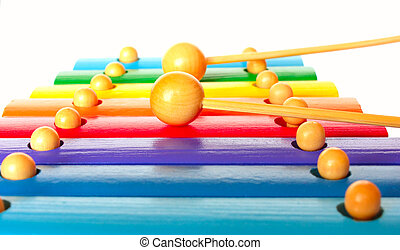 xylophone, jouer