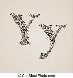 y, 飾られる, 手紙