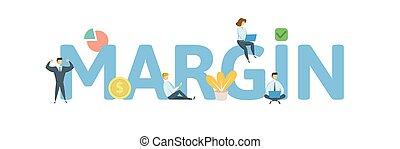 y, concepto, palabra, illustration., banner., gente, aislado, icons., fondo., vector, plano, cartas, blanco, margen