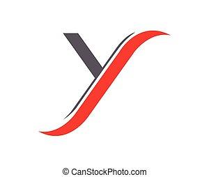 y design Logo letter y company vector design template. y design