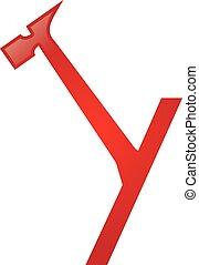 Y Letter Repair Logo