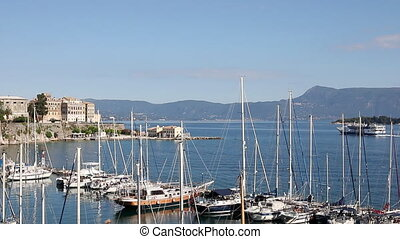 yacht and boats Kerkyra Corfu