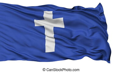 Yacht Chaplain Religious Isolated Waving Flag